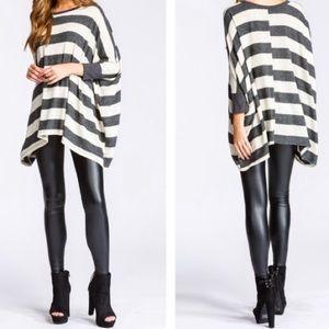 Tops - Super Soft Striped Tunic